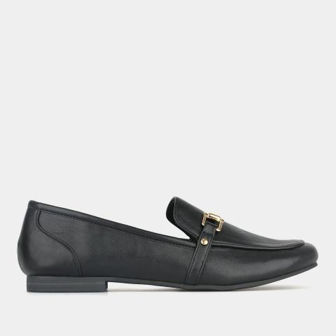 NINA Black Loafers