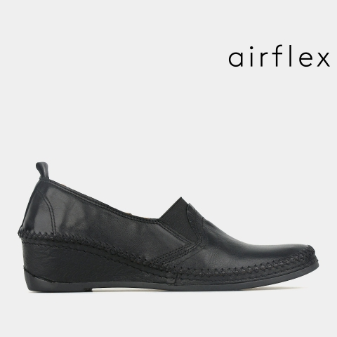 UNIT Leather Slip On Loafers