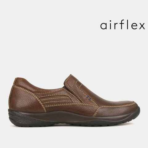 BRIAN Leather Slip On Shoes