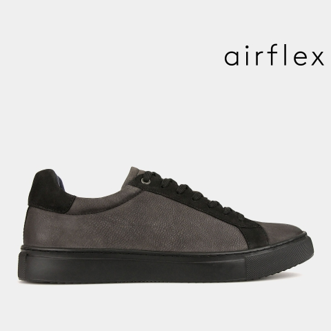 VENTURE Two Tone Leather Sneakers