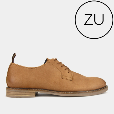 ACCESS Lace-Up Derby Leather Shoes