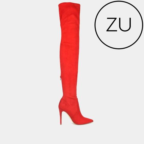 DOMINATE Thigh-High Stiletto Boots