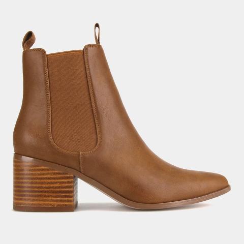 STROLL Mid Heel Chelsea Boots