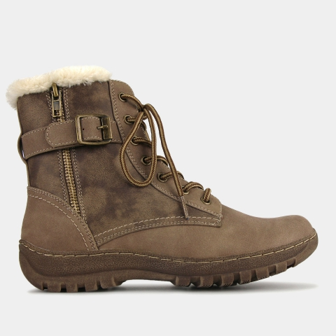 ARMY Ankle Lace Up Boots