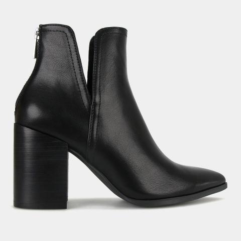 DRAKE Block Heel Ankle Boots