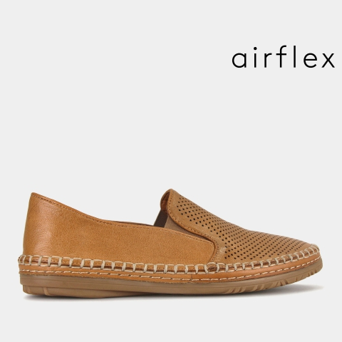 NAPLES Leather Comfort Loafers