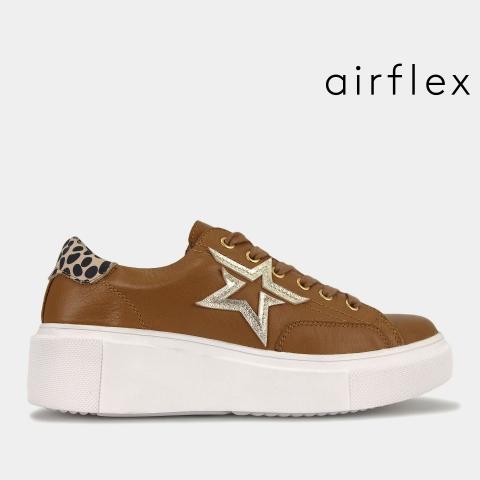 KREST Leather Platform Sneakers