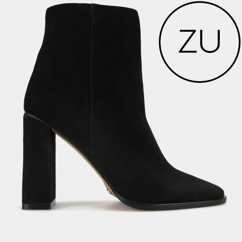 WYLIE Suede Leather Ankle Boots