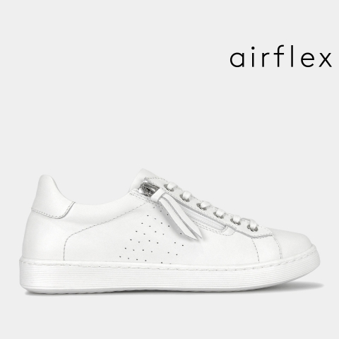 FLAME Leather Comfort Sneakers