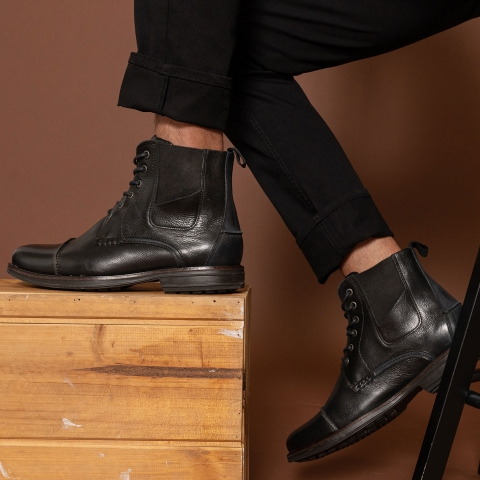 OTTO Leather Lace Up Boots