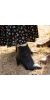 CREEK Vegan Block Heel Boots