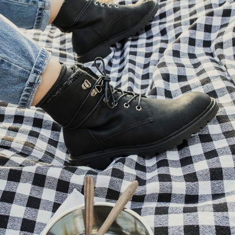 TRENCH Vegan Comfort Sustainable Boots