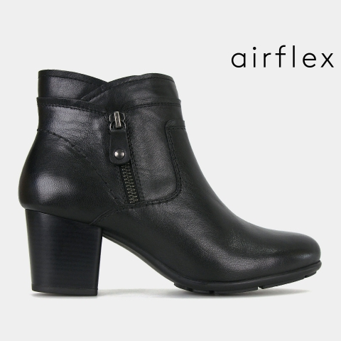 GERI Leather Comfort  Ankle Boots