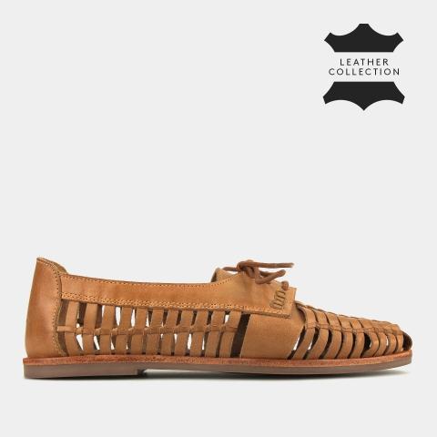 MANDRAKE Leather Huaraches