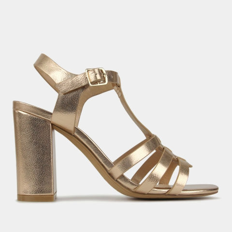 KALARI Block Heel Sandals