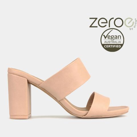 KRUZ Vegan Block-Heel Slides