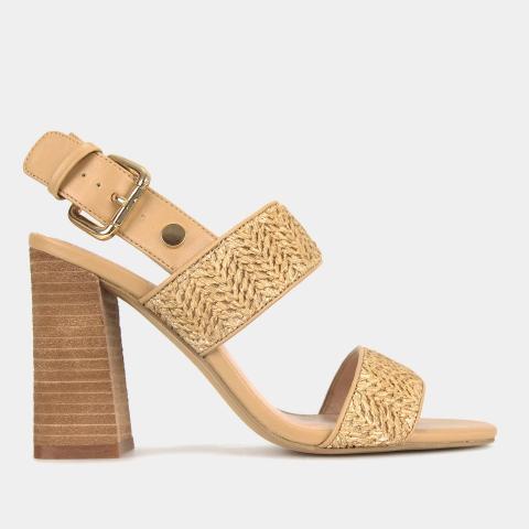 PRIM Block Heel Sandals