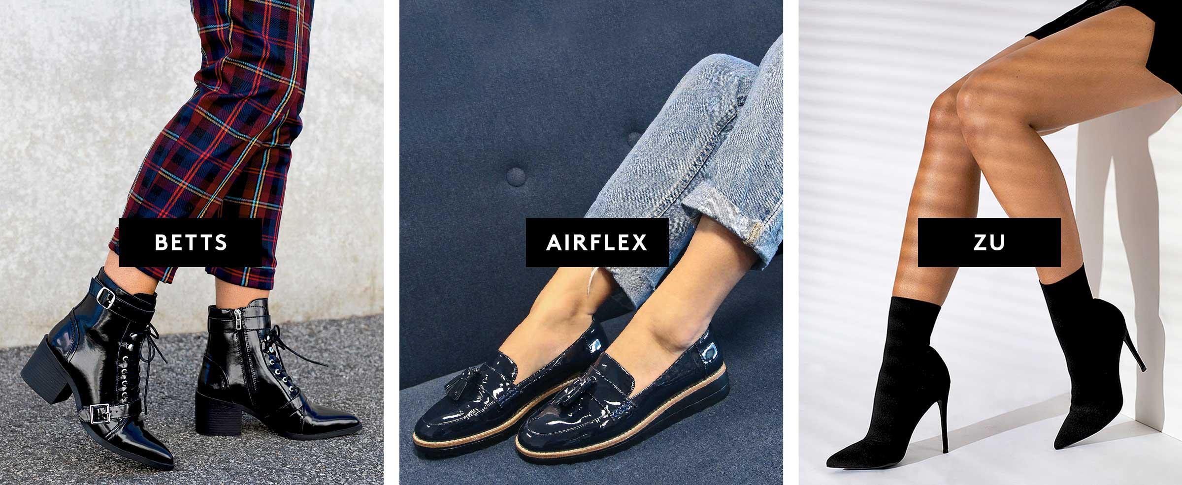 Shop Betts, Airflex & ZU