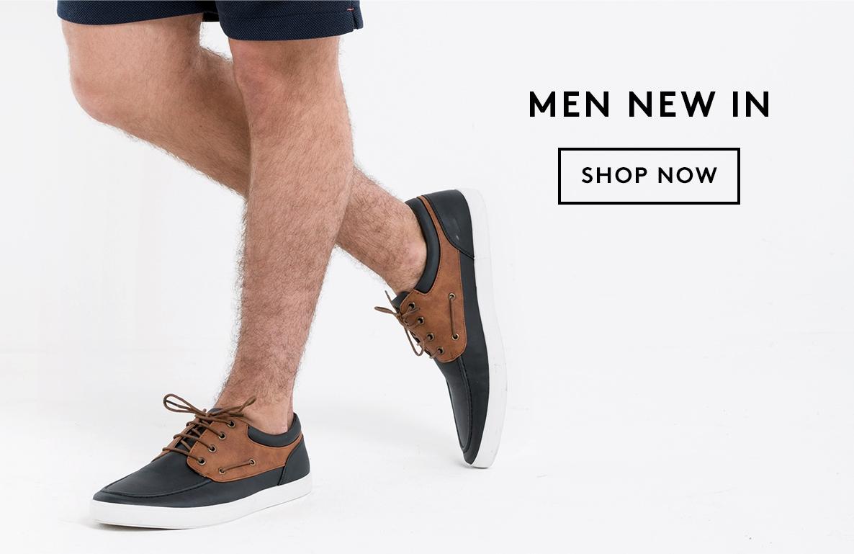Men New In