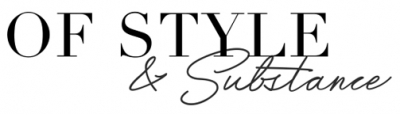 Of Style and Substance Logo