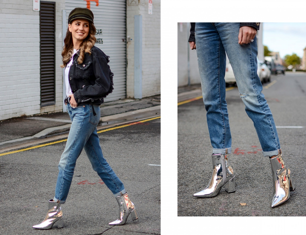 Three Ways to Wear Metallics