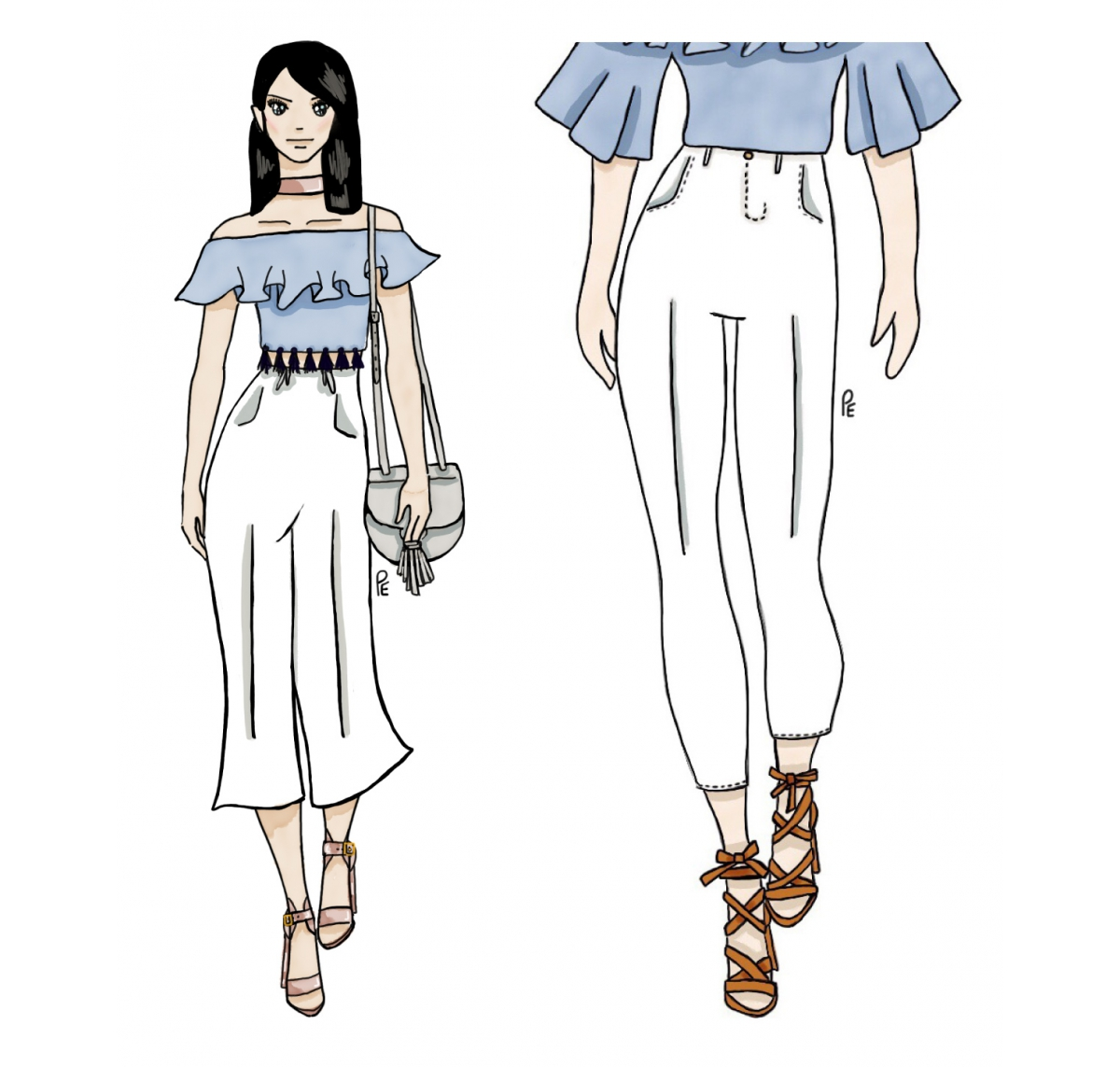 Betts Shoes Illustration