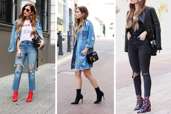 Three Ways to Wear Sock Boots