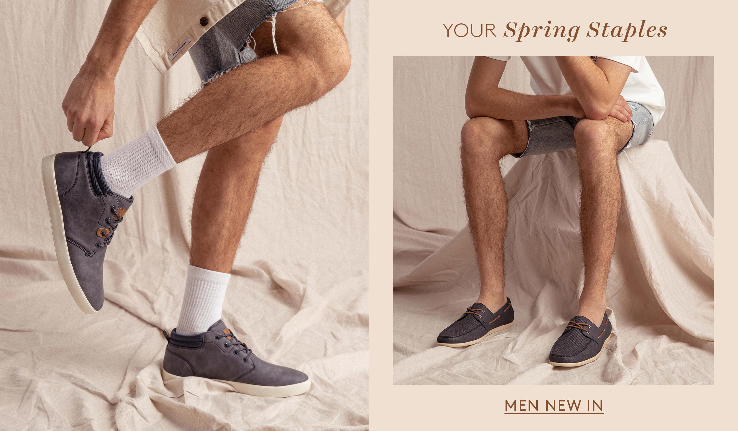 BETTS | Men's Casual Shoes | NEW Arrivals | hmpg banner 2400 x 1402