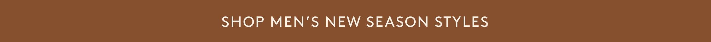 BETTS | Men's | NEW Arrivals | hmpg banner 2400 x 143