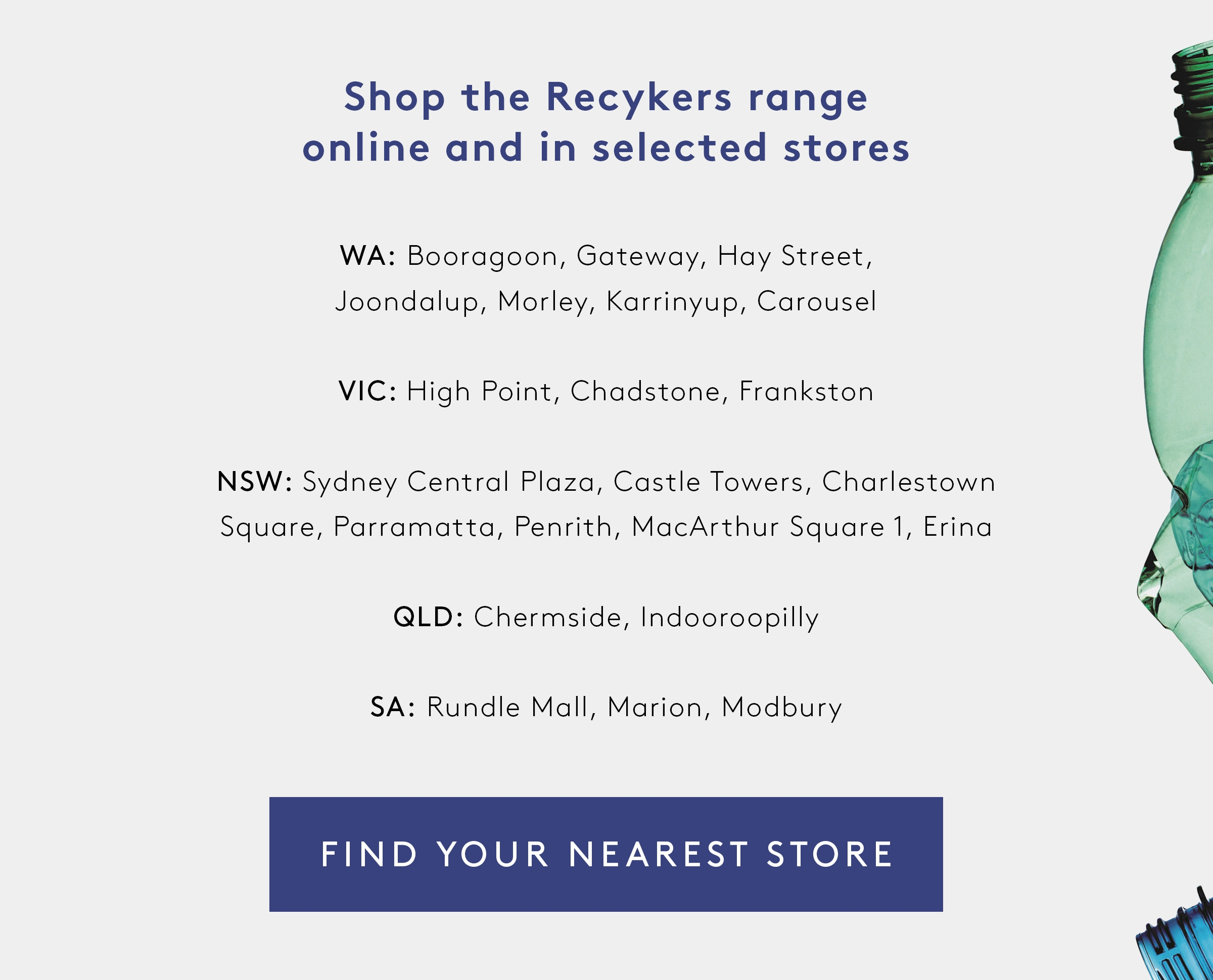 Recykers Recycled Sneakers Store Locator