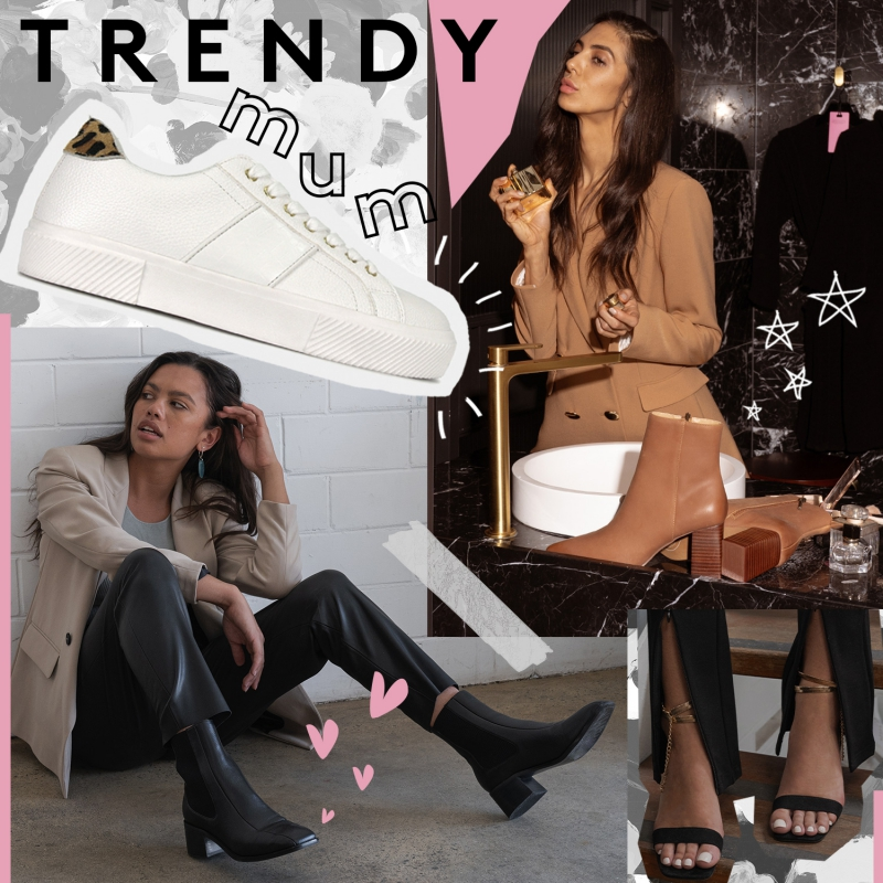 Trendy Mum - Trending Square Toe & White Shoes - Mother's Day Boots, Sneakers & Heels