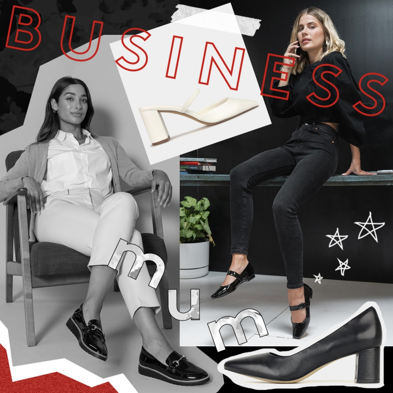 Business Mum - Comfortable & Corporate Shoes - Mother's Day Office Shoes, Heels & Boots