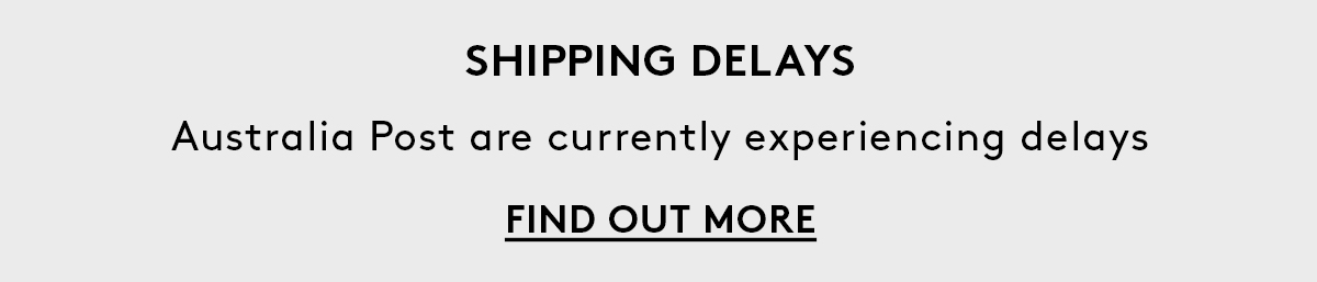 Aus Post Shipping Delays