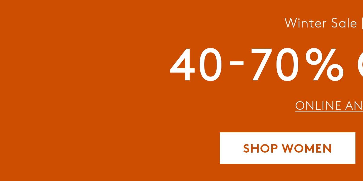 40-70% Off Sale