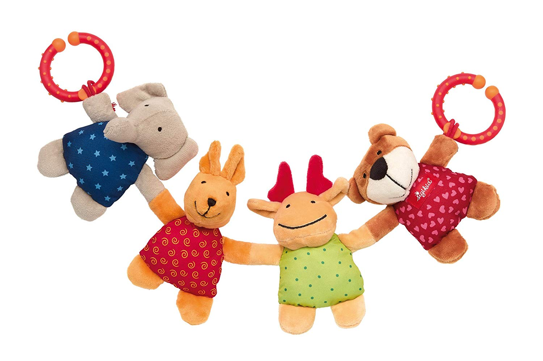 Sigikid Textile Clips Pram Chain Animals