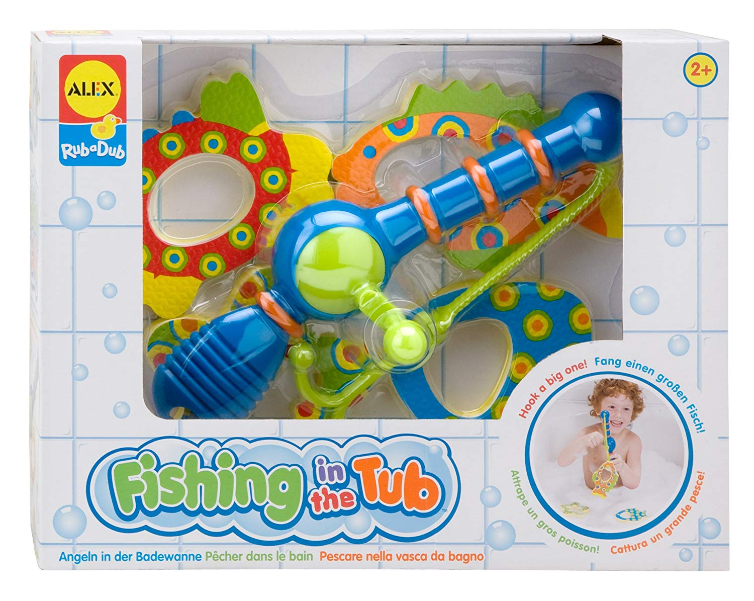 Alex Rub a Dub Fishing in the Tub bath toy