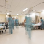Coping with an unprecedented increase in patients in a new Emergency Department