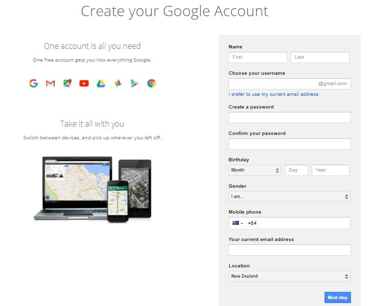 How to Sign Up for An Account to Publish App on Google Play