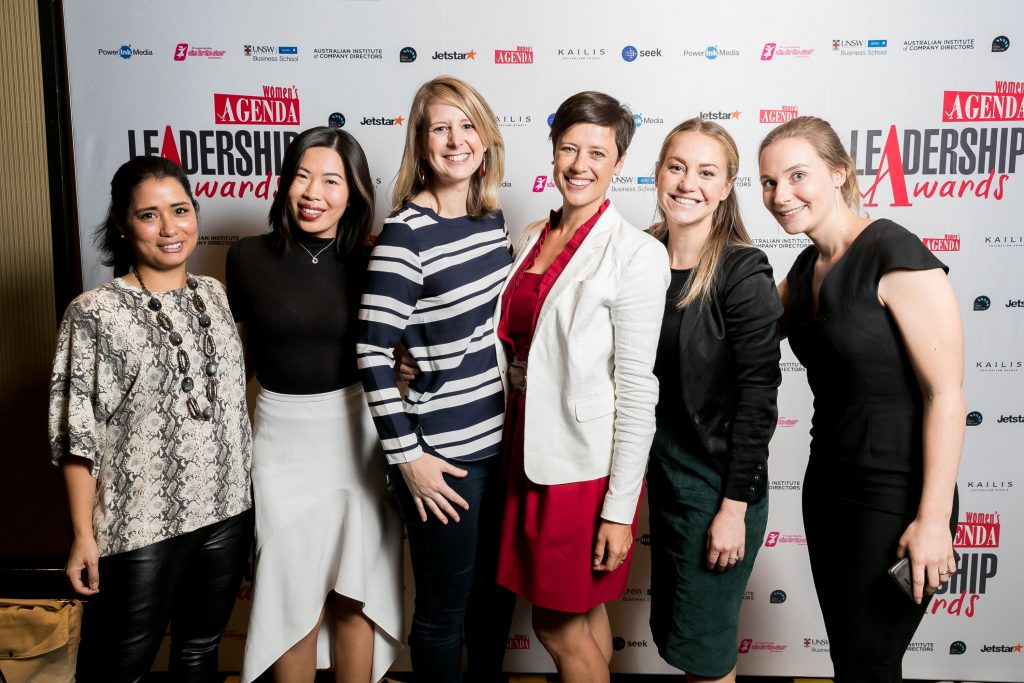 BlueChilli at Woman's Agenda leadership award night