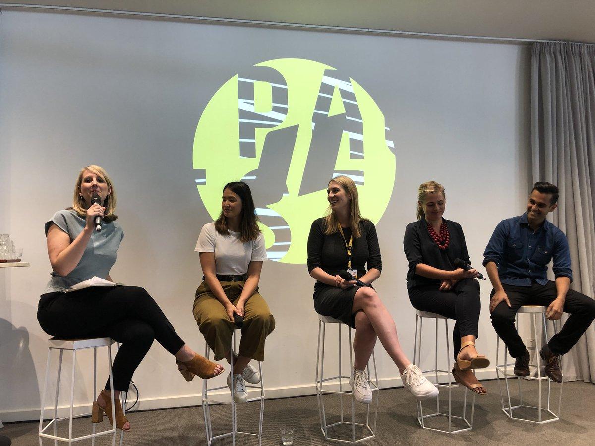 Nicola on Panel t at PauseFest 2018