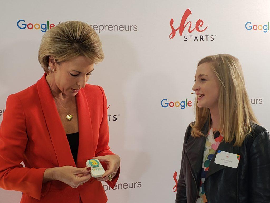 Talkiply startup hardware Dr Annie McAuley