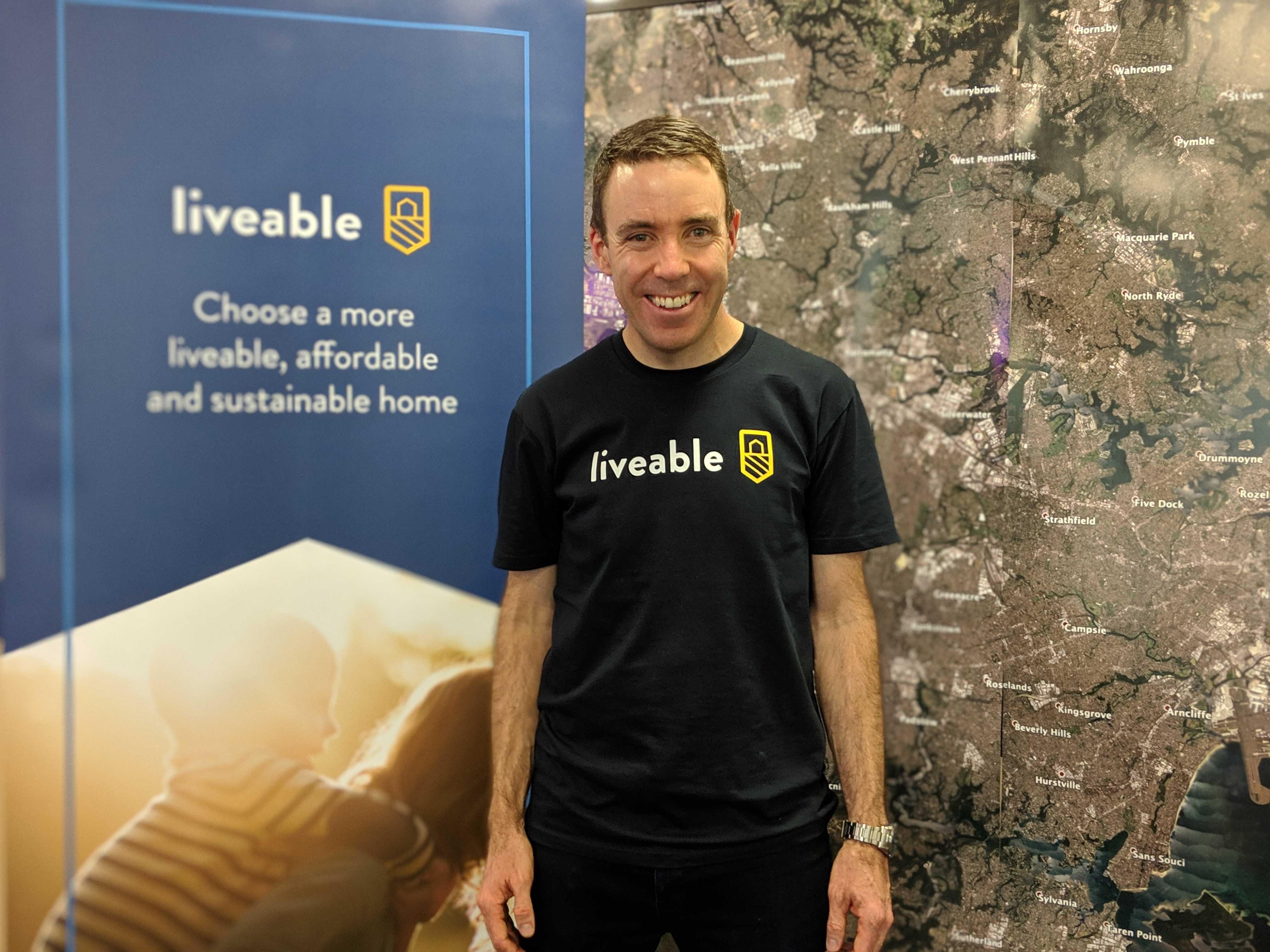 Simon McPherson founder of Liveable