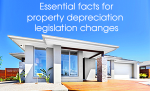 "<div style=""font-weight:bold; line-height:22px; margin-bottom:10px;""> New depreciation legislation for Australian property investors"
