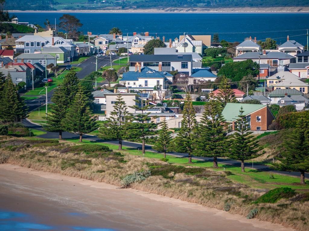 Australian seaside suburb