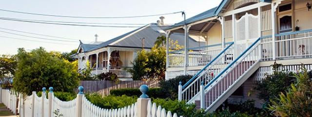 Suburban street Australia