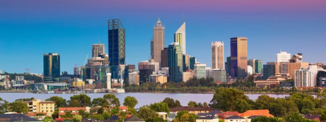 Perth city landscape