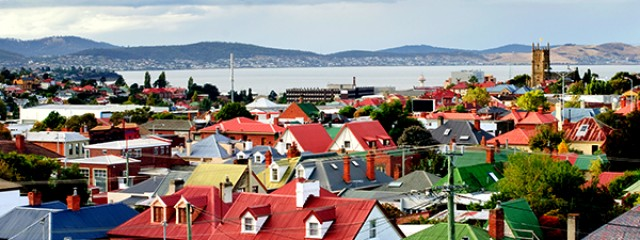 The city of Hobart