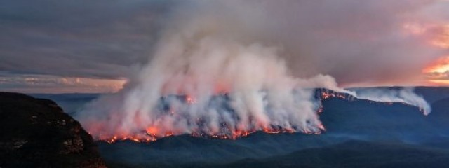 Bushfire in the Blue Mountains