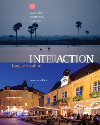 Interaction: Langue et culture, 9th Edition