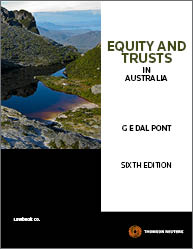 Equity & Trusts in Australia 6th Edition